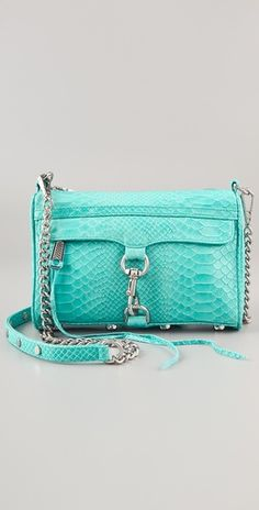 Rebecca Minkoff Mini MAC Snake Bag | SHOPBOP