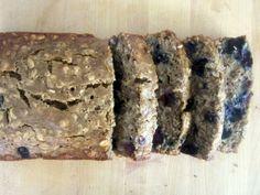 oatmeal blueberry banana bread