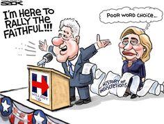 Presumptuous Politics: Bill Clinton Cartoons