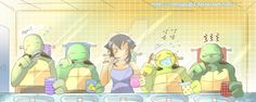 Good morning, Hamato Family by owiyalight on DeviantArt