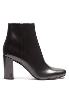 Loulou leather ankle boots | Saint Laurent | MATCHESFASHION.COM