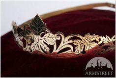 Medieval Brass Handmade Crown Leaves by armstreet on Etsy If this dosen't look narnian idk what does.