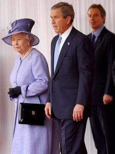 with President George W. Bush & Tony Blair!  Oh! To be a fly on that wall!