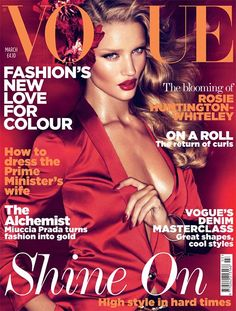 Vogue, a classic magazine choice but it never fails to disappoint. The editorial shoots are forever inspirational and I had to choose a cover that features another style crush I have - Rosie Huntington-Whiteley #SWSHAREYOURLIFE