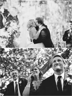 first kiss + family reactions. Adorbs