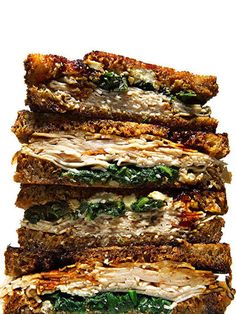 Turkey, Arugula and Goat Cheese Panini - Fitnessmagazine.com