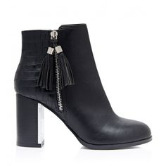 Molly Tassel Ankle Boots