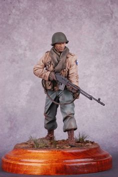 American WWII GI toy soldier.