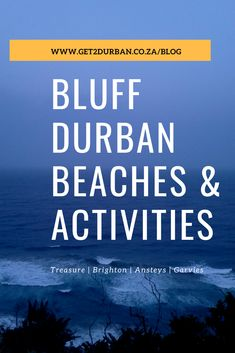 Bluff Durban Beaches and activities Brighton Beach Durban For as long as I've been around the Bluff its quite bothering to know that people from outside of it Durban South Africa, Beach Activities, Greatest Adventure, Africa Travel, Good Advice, Cool Places To Visit, Brighton, Beaches, Stuff To Do