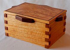 Cedar Box Materials: spanish cedar, bubinga inlay, bubinga handles, Cedar, Bubinga $278.60