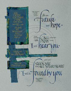 Future Hope II     Jeremiah 29:11-13