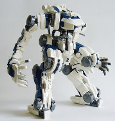 Hyperion - Titan Class mecha by The Grandpappy, via Flickr