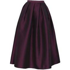TIBI Simona Jacquard Full Skirt found on Polyvore