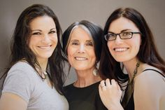 Mother Daughter Glamour Shoot: Megan, Hilary, and Ruth | Painted Foot