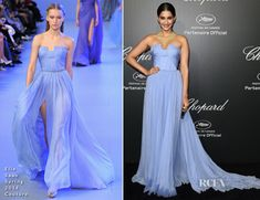 Sonam Kapoor In Elie Saab Couture - Chopard Dinner - Red Carpet Fashion Awards