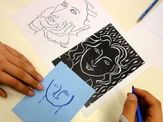 Prints inspired by the Matisse's drawings