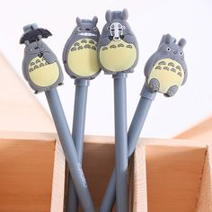 Totoro design neutral pen baby shower souvenirs gift for boy girl happy birthday party supply