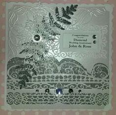Diamond wedding anniversary Www.facebook.com/kraftykath