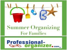Summer time is fun time! It's the time we think about letting go of all the routines and the responsibilities and building lots of memories. However, summer fun is best when there is a little organization and preparation. With lots of fun scheduled for your family, you'll want to get organized! Family calendar Family …