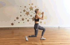 The 30-Minute HIIT Jump Rope Workout: Stationary Lunges Exercise