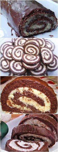 Rocambole de chocolate,SIMPLES E MUITO GOSTOSO!! VEJA AQUI>>>Em um recipiente grande, misture o leite em pó e o achocolatado. Depois, acrescente o leite condensado. Primeiro, misture com uma colher e, quando ficar um pouco mais sólido, mexa com as mãos até formar uma massa homogênea. #receita#bolo#torta#doce#sobremesa#aniversario#pudim#mousse#pave#Cheesecake#chocolate#confeitaria