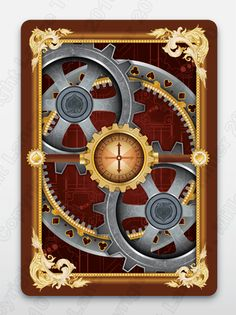 Lance Miller's New Steampunk Playing Card Deck by Lance T. Miller — Kickstarter