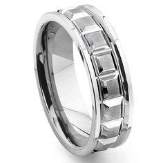 VIKINGS Tungsten Carbide Wedding Band Ring