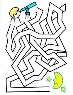 Mazes For Kids, Worksheets For Kids, Sistema Solar, Puzzle Club, Maze Puzzles, Hidden Pictures, Picture Puzzles, Pre Writing, Activity Sheets