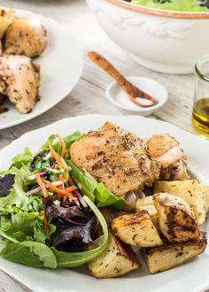 Recipe: Chicken and Potatoes Sheet-Pan Supper