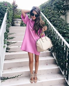 Southern Curls & Pearls: Hotel Review: Costa d'Este in Vero Beach, FL | Storets pink dress // Jeffrey Campbell wedges // Givenchy handbag // Prada sunglasses