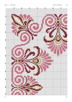 Discover thousands of images about Yogurtcu Cross Stitch Borders, Crochet Borders, Cross Stitch Flowers, Cross Stitch Designs, Cross Stitching, Cross Stitch Embroidery, Cross Stitch Patterns, Hand Embroidery Designs, Embroidery Patterns