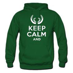 Keep Calm and Hoodie