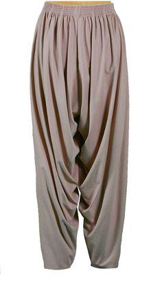 Knit Cowl Pants