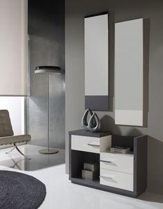 meuble chaussures contemporain loumi coloris weng. Black Bedroom Furniture Sets. Home Design Ideas