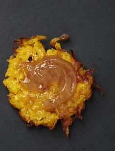 These Butternut Latkes with Apple Butter are a nice alternative to traditional potato latkes for Chanukah. The Apple Butter, similar to applesauce, is a perfect pairing with the savory Butternut Latkes. Pumpkin Butter, Apple Butter, Hanukkah Food, Hanukkah Recipes, Hannukah, Potato Latkes, Israeli Food, Cooked Apples, Jewish Recipes