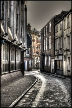 'The Land of Green Ginger' is a narrow street at the bottom of Whitefriargate in the old town area of Kingston upon Hull, England. Photo by Bam Boostick entered into the Acrylic Image photo contest Hull England, England Uk, Kingston Upon Hull, Hull City, East Yorkshire, Camera Shots, British Isles, Photo Contest, Old Town