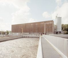 Afbeeldingsresultaat voor water treatment plant architecture
