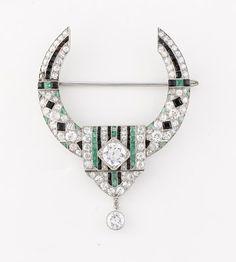 Van Cleef & Arpels- art deco brooch