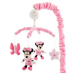Minnie Mouse Musical Mobile for Baby   Home & Decor   Girls   Disney Store