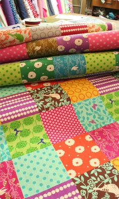 Love this patchwork!