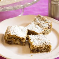 Torta facile con le noci Krispie Treats, Rice Krispies, Desserts, Food, Postres, Deserts, Hoods, Meals, Rice Krispie Treats