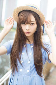 A Certain Romance Japan Girl, Japanese Models, Woman Face, Cute Fashion, Women's Fashion, Pretty Woman, Beauty Women, Asian Beauty, Cute Girls