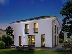 Das Stadthaus Flair 152 RE überzeugt nicht nur mit seiner modernen Optik. Die rechteckige Grundrissgestaltung bietet besonders hohen Wohnkomfort für die ganze Familie.