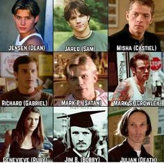 Some of the them (mainly jensen and jared) look like little children