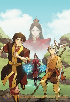 """Avatar: The Last Airbender - The Search. This weekend at the American Library Association, Dark Horse announced Yang and Gurihiru will return for a second ""Avatar: The Last Airbender"" graphic novel series called ""The Search,"" which explores the biggest unsolved mystery in ""Avatar"" lore: what happened to Prince Zuko's mother?"" OHMYFLYINGBISON!!!!! I need to know."
