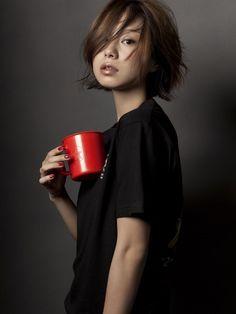 일본모델/일본패션모델/일본여배우/인스타그램 : 네이버 블로그