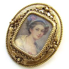 Cameo Appearance - #ecochic #gvsteam #vintage #jewelry #etsy by Angie Sandoval on Etsy