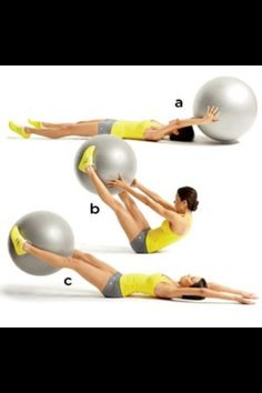 Core workout. These rock for people with foot injuries/pain!!