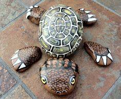Turtle Painted Rocks | Painted Turtle