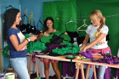 Madeira Wine Festival/hats/making of